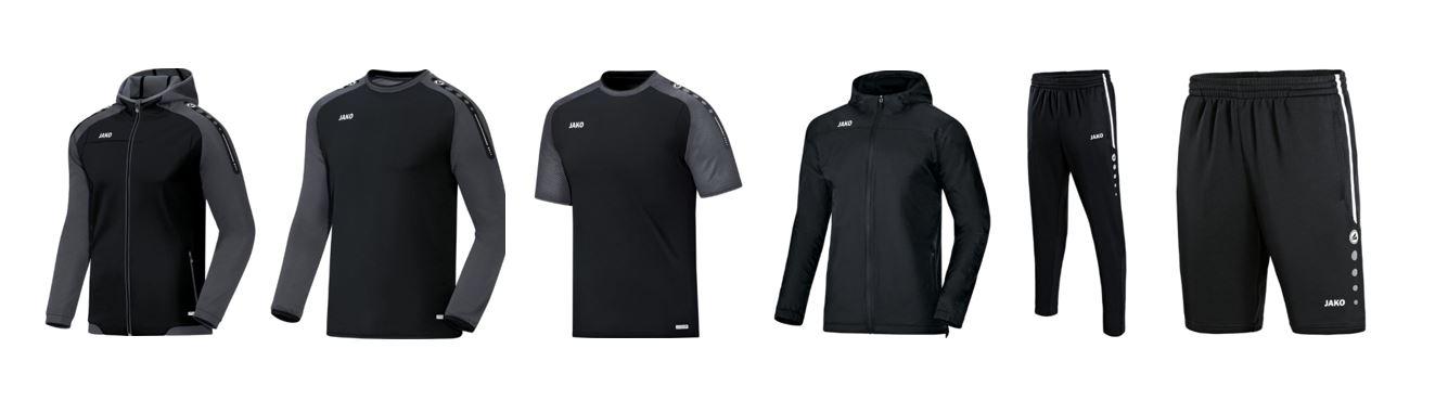 Neueinkleidung FC-Mitglieder